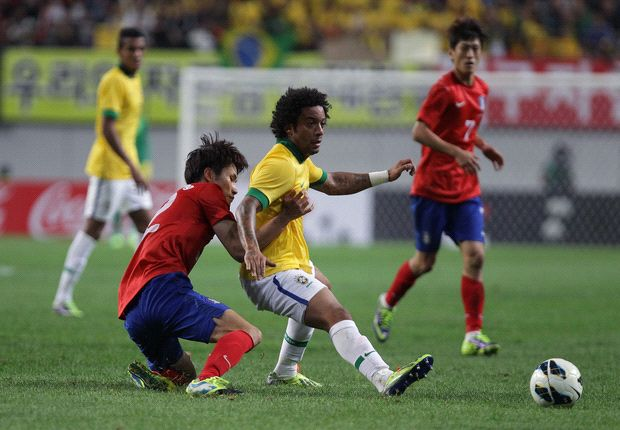 Hong Myung-Bo: Strong Brazil too much for South Korea