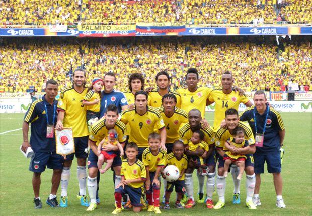 Colombia clasificó al Mundial Brasil 2014 tras empatar 3-3 ante Chile