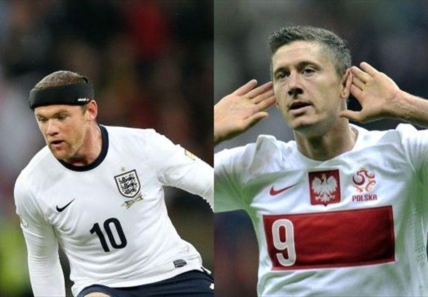 Das Duell: Wayne Rooney vs. Robert Lewandowski