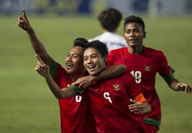 Tim Indonesia U-19, para pencetak sejarah.