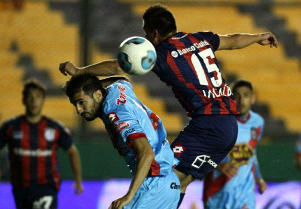 San Lorenzo cayó en Sarandí por 2 a 1 y se reavivaron las polémicas por los arbitrajes.