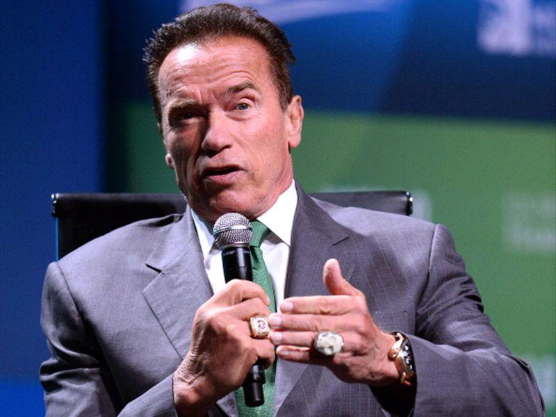 Arnold Schwarzenegger au Barça !