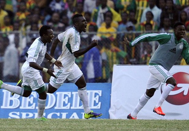 Ethiopia 1-2 Nigeria: Emenike double breaks hosts' hearts