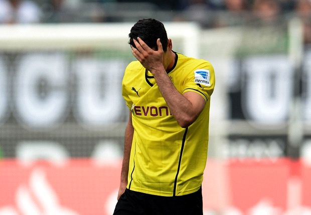 Lewandowski frustrated with lack of goals for Borussia Dortmund