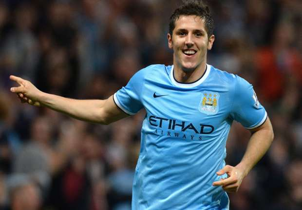 Manchester forward Stevan Jovetic