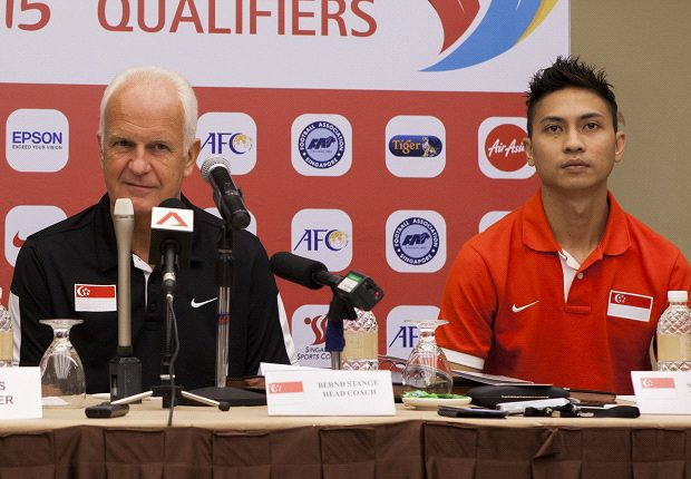 Stange aims for Lions to do better against Syria