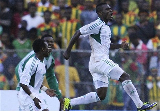 Emmanuel Emenike now realizing huge potential in the colours of Nigeria