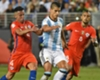 Mauricio Isla Erik Lamela Arturo Vidal Argentina Chile Group D Copa America Centenario 06062016