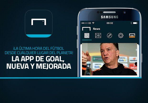 ¡La nueva App de Goal!