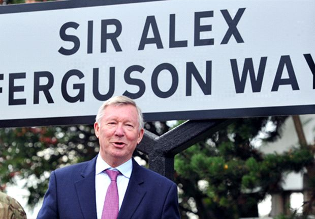 Sir Alex Ferguson honoured with street naming