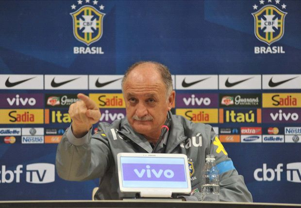 Scolari against Diego Costa representing Spain
