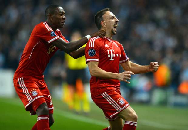 Ribery picks up ankle injury