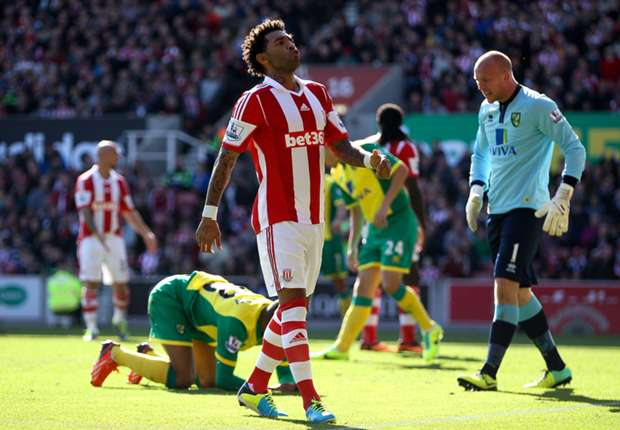 Stoke winger Pennant looking to gain momentum from West Brom clash