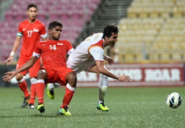 Late Syrian goals compound misery on understrength Singapore