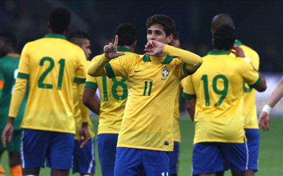 Oscar Brazil vs Zambia 10152013