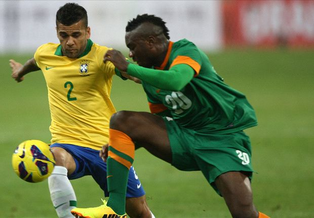 Zambia boss Beaumelle proud of Brazil showing