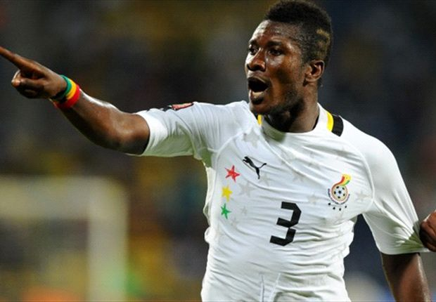 Asamoah Gyan guns for Africa Player of the Year