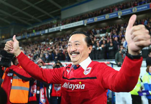Cardiff owner Vincent Tan writes off club debt