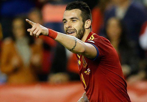 Negredo inginkan tempat di tim utama Spanyol.
