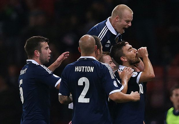 Scotland 2-0 Croatia: Snodgrass & Naismith on target as hosts sign off in style