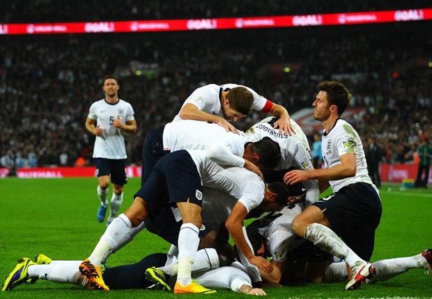 England 2-0 Poland: Rooney & Gerrard book Three Lions' World Cup spot