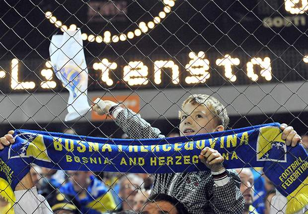 Bosnia qualify for first ever World Cup finals