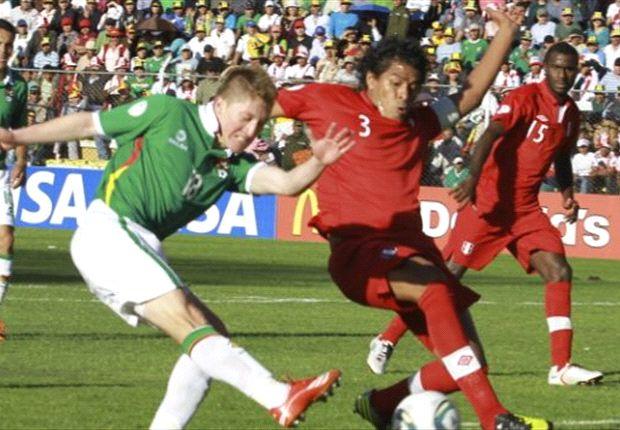 Frío empate entre Perú y Bolivia