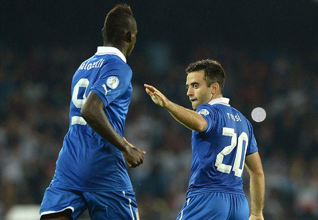 Wahrscheinlich das italienische Sturmduo 2014: Mario Balotelli und Giuseppe Rossi