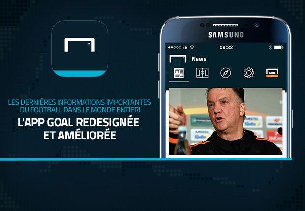 Téléchargez les applications mobiles Goal.com (iphone, Android, Nokia, Windows)