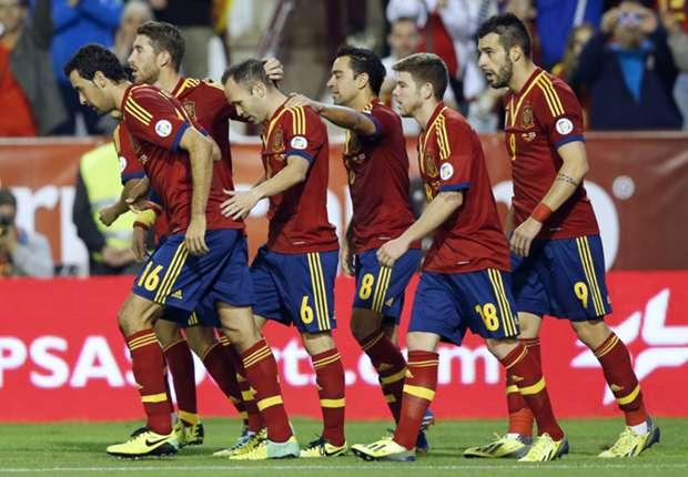 Die Spanier sind kaum zu stoppen