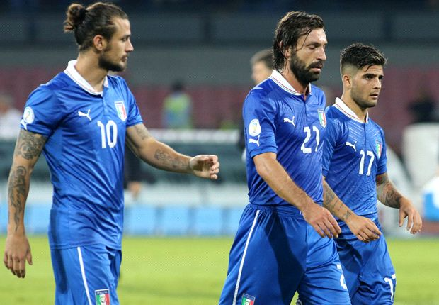 Italy not in top seeds for World Cup draw