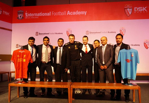 Liverpool FC and DSK Shivajians FC launch international academy in India