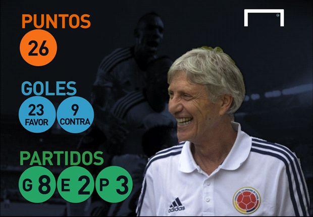 José Pekerman cambió el rumbo de Colombia en las Eliminatorias.
