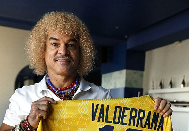 'Sex at the World Cup would help' - Valderrama