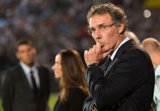 PSG manager Laurent Blanc.