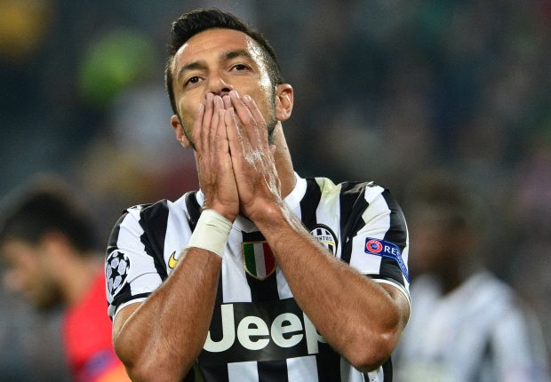 Quagliarella to miss Madrid encounters