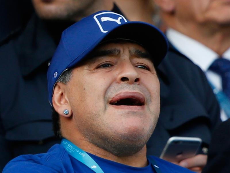 Maradona croit en un nouvel exploit de l'Islande