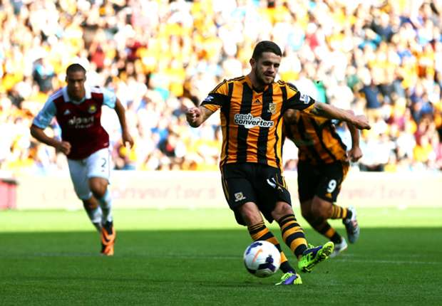 Brady boost for Hull ahead of Everton clash