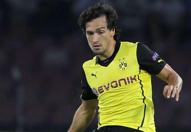 Mats Hummels ha jugado 12 partidos durante la temporada con Borussia Dortmund.