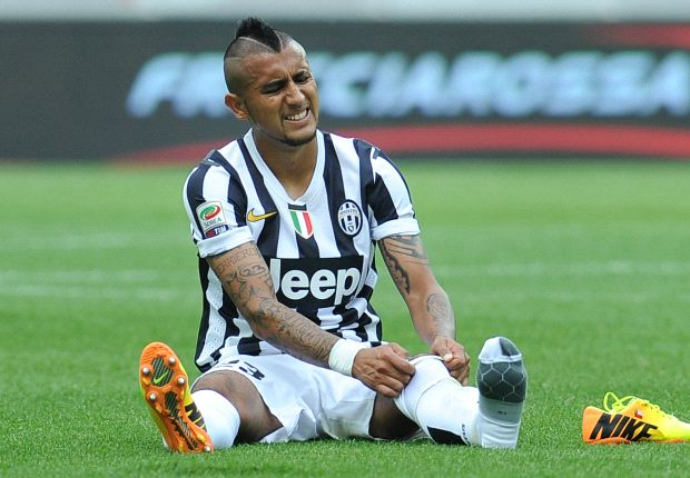 Vidal doubtful for Real Madrid clash