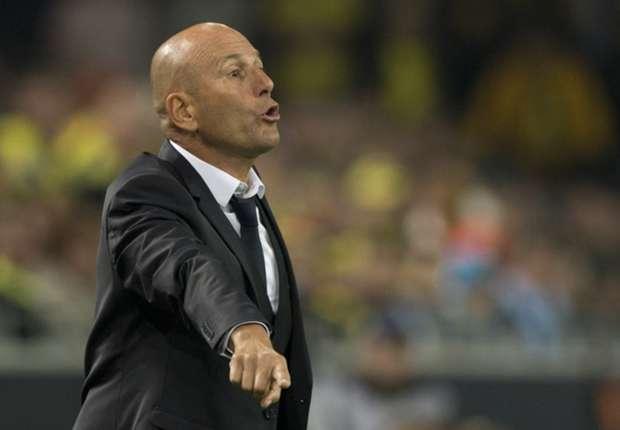 Elie Baup staat onder druk bij Olympique Marseille