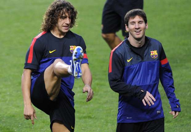 Messi: Barcelona will miss Puyol