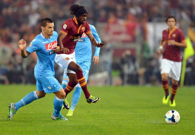Ein echtes Spitzenspiel: die Roma empfängt Napoli