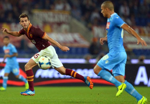 Roma 2-0 Napoli: Pjanic double continues perfect Giallorossi start