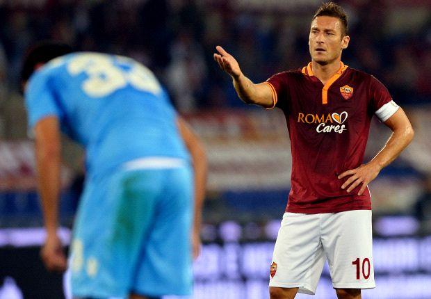 Francesco Totti wird der Roma erst einmal fehlen