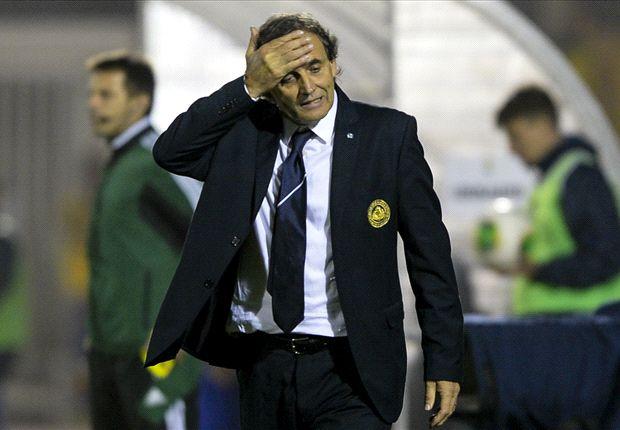 Giampaolo Mazza sólo empató un partido oficial como DT de San Marino y perdió todos los demás.