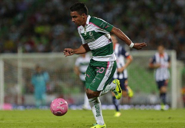 Liga MX: Santos Laguna 3-2 Monterrey | De la mano del Cepillo, Santos gana