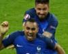 Dimitri Payet Olivier Giroud France Romania UEFA Euro 2016 10062016