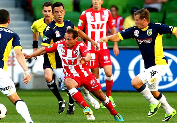 Melbourne Heart 2-2 Central Coast Mariners: Heart pay the penalty