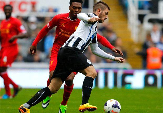 Sepuluh Pemain Newcastle United Tahan Imbang Liverpool